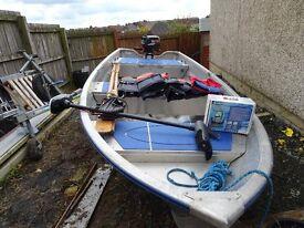 Linder 440 Fishing Aluminium Boat Package.