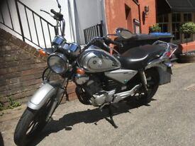 Yamaha Custom Cruiser YBR 125cc