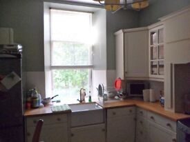 Full Magnet Shaker Kitchen Cream for sale with real wood worktops