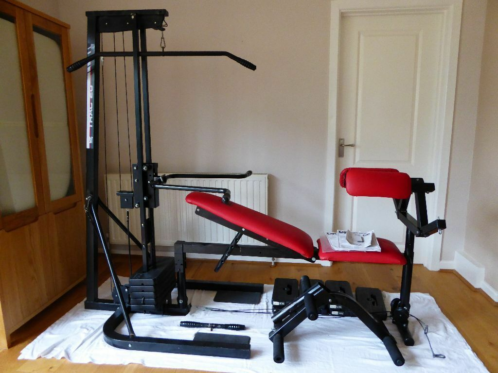Dp home gym weight bench upper and lower body workout