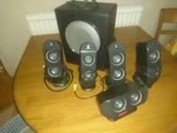 Logitech X-530 speaker system