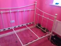 Girls metal bed for sale £45