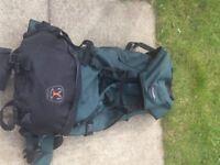 2 vango hiking rucksacks