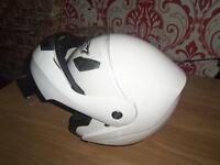 shox flip front full face crash helmet size 63 to 64 cm xxl good condition