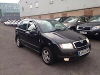 GUD SPEC 2004 SKODA FABIA 1.4//LOW MILES CAMBELT REPLACE WITH GOOD HISTORY/HPI CLEAR