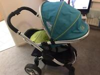 Icandy peach 2 with carrycot