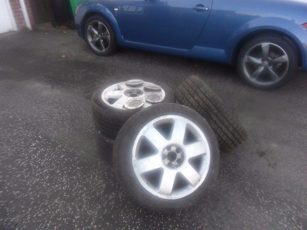 Audi TT Alloy Wheels for sale