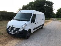 Great Renault Master Van LWB with extra springs for heavy loads