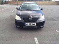 Toyota Corolla T3 1.4 vvti scraps/salvage £350 ono