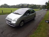 CITROEN XSARA PICASSO EXCLUSIVE AUTOMATIC. 56 PLATE LOW MILAGE