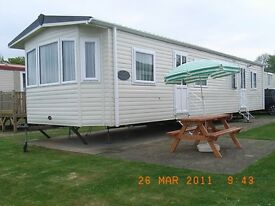 HAVEN PARK CARAVAN for sale. Situated on the Quay West Haven Holiday Park, Newquay, West Wales.