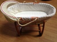 Mamas and Papas 'Jamboree' Moses basket with stand