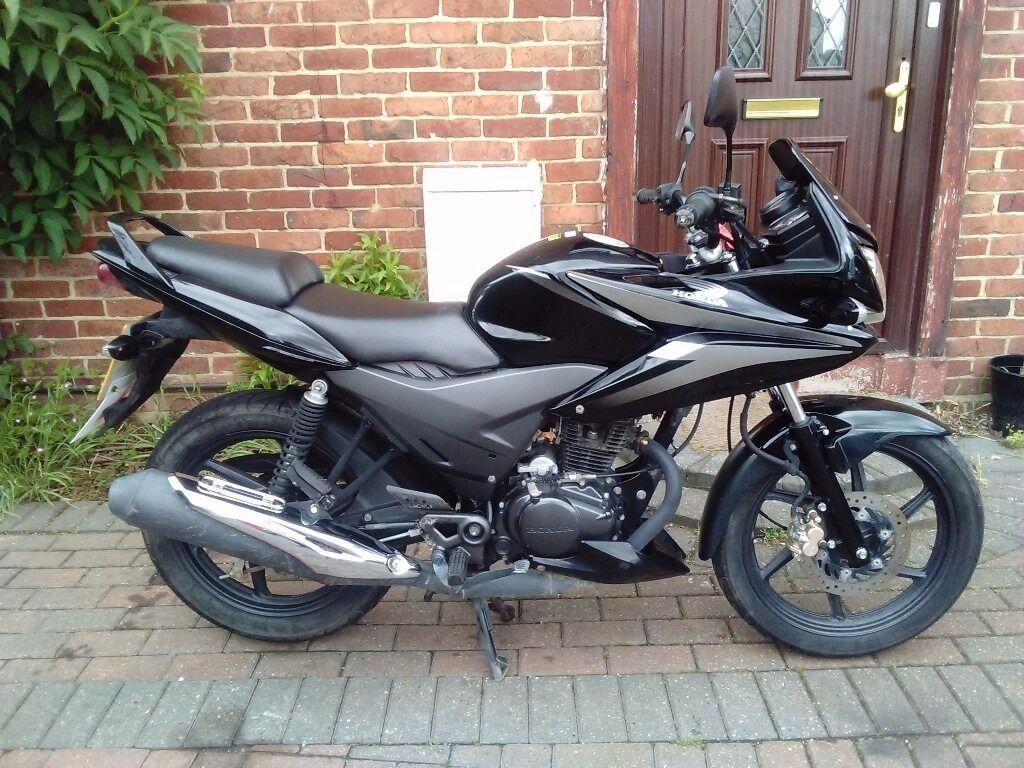 2013 Honda Cbf 125 Motorcycle Long Mot 1 Owner Low Miles Very