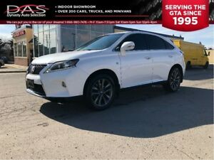 2013 Lexus RX 350 F Sport NAVIGATION/LEATHER/SUNROOF