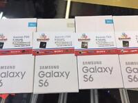 SAMSUNG GALAXY S6 UNLOCKED BRAND NEW BOXED WARRANTY & SHOP RECEIPT