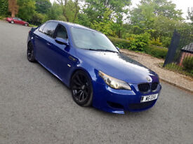 2005 BMW M5,507 BHP,SMG III,84000 MILES,FULL SERVICE HISTORY,FULLY LOADED,P/X...