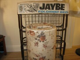 JAYBEE FOLDAWAY BED WITH MATTRESS