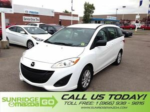 2015 Mazda MAZDA5 FAMILY CAR, 7 PASSENGER, CLOTH  INTERIOR, POWE