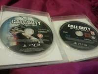 Ps3 2 games call of duty
