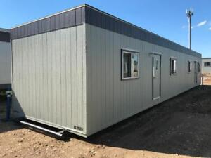 12x60 trailer Diner  building skid  Air conditioned lunch room with Gas AND Electric heat !  153926
