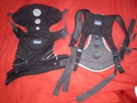 Chicco Close To You Three way Baby Carrier backpack sling adjustable