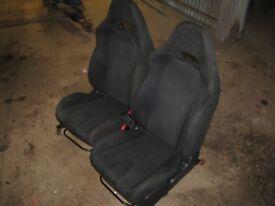 Subaru Impreza Blobeye Front & Rear Seats