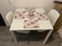 IKEA TABLE & 3 CHAIRS
