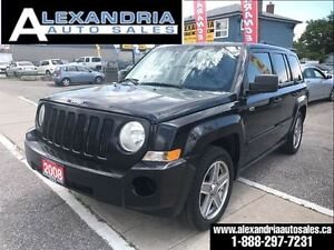2008 Jeep Patriot Sport 4x4 safety includes