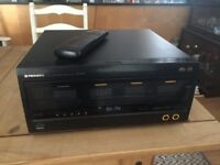 Pioneer 100 disc CD changer, remote, model PD-F100