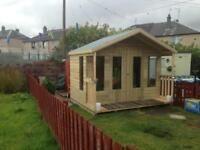 WINTER PROMOTION SHEDS SUMMERHOUSES PLAYHOUSES HOT TUB HUTS MAN CAVES GARDEN BUILDINGS