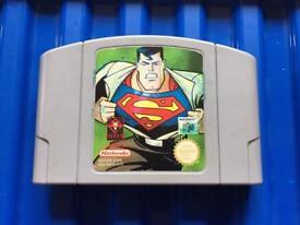 Nintendo 64 superman game. N64