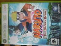 NARUTO THE BORKEN BOND, X-BOX 360