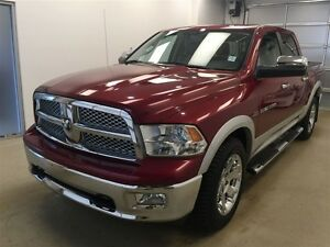 2012 Dodge Ram 1500 Laramie Heated Seats, NAV, Sunroof