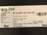 Noel Gallagher - Glasgow hydro - 24th April - £80 for tickets (face value £50 each)
