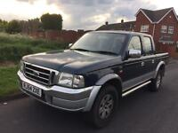 **SOLD** Ford Ranger 4 x 4 double cab pickup