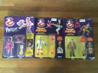Ghostbusters figures sealed