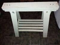 Wood cutting bench