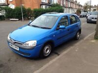 vauxhall corsa 1.2 litre engine 2002 year perfect condition