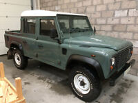 Land Rover Defender 110 Double Cab Pick up 2.4TDi