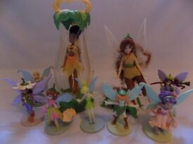 9 fairies from the TinkerBell films