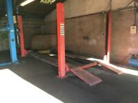 Four post ramp for sale just £550