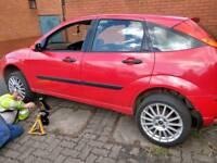 Ford focus spare or repairs