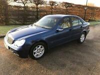 MERCEDES C200 KOMP SE AUTO . 30k FULL SERVICE HISTORY 2004 LONG MOT DRIVES LOVELY VERY CLEAN CAR