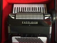 Excelsior accordion slim keys 37 key musette