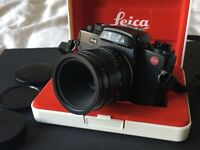 Leica R6.2 camera with 60mm Macro Elmarit F2.8 Lens (3 Cam made in Germany) - Excellent Condition