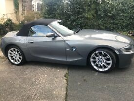 BMW Z4 Grey Sports Car