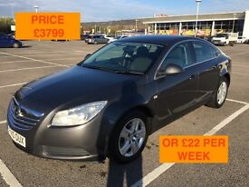 2010 VAUXHALL INSIGNIA EXCLUSIV CDTI 160 BHP / LONG MOT PX WELCOME / FINANCE AVAILABLE / WE DELIVER