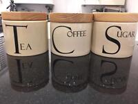 Tea, Coffee and Sugar Pots - Great Condition