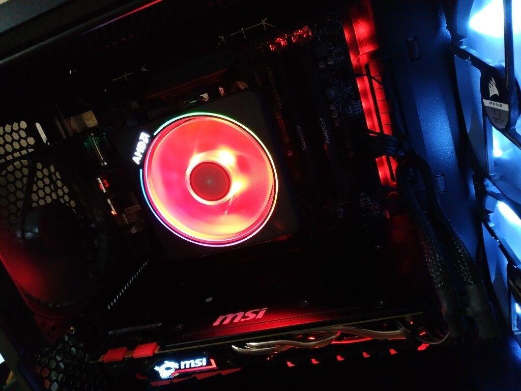 Ryzen 2600X, MSI X470 Gaming Plus, MSI GTX 1070, 16GB Team Dark Pro 3866MHZ  | in Barnsley, South Yorkshire | Gumtree