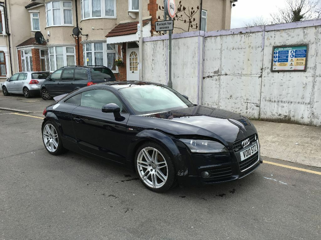 2010 audi tt s line 2 0 tdi diesel quattro manual damaged repairable salvage 74k in east. Black Bedroom Furniture Sets. Home Design Ideas